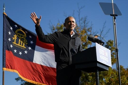 버락 오바마 전 미국 대통령. 로이터연합뉴스