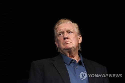 '올백머리' 트럼프 대통령 [AP=연합뉴스] [2019.06.03 송고]