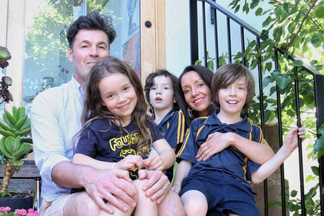 사웬코 가족의 모습.(사진=ABC 뉴스)