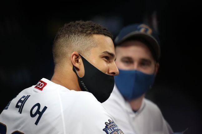 마스크 착용 거부했던 알테어. ⓒ 뉴시스