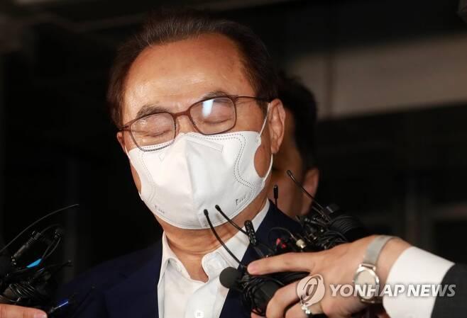 경찰 수사 받은 오거돈 전 부산시장 연합뉴스 자료 사진