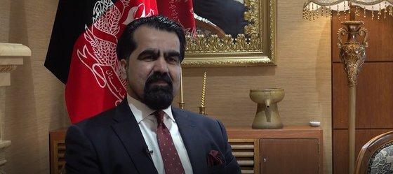 압둘 하킴 아타루드 주한 아프가니스탄 대사. 전수진 기자
