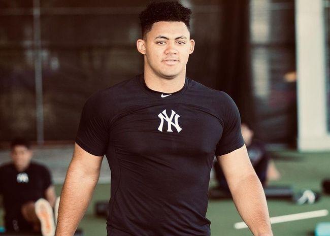 [사진] 뉴욕 양키스 제이슨 도밍게스. / 도밍게스 인스타그램 캡쳐