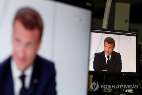 에마뉘엘 마크롱 프랑스 대통령 [AFP=연합뉴스 자료사진. DB 및 자료사진]