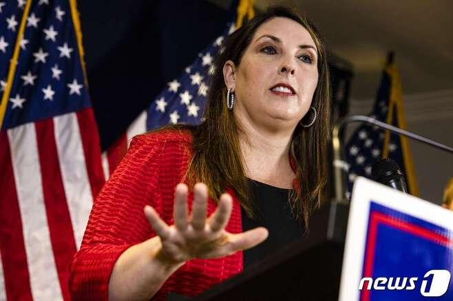 로라 맥대니얼 미국 공화당 전국위원회(RNC) 위원장 © AFP=뉴스1