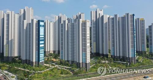 창원시 의창구 중동지구 아파트 단지 [연합뉴스 자료사진]