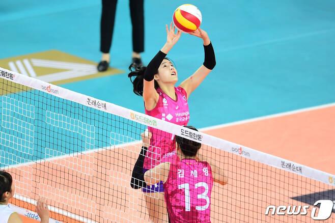 흥국생명의 주전 세터 이다영. (한국배구연맹 제공) © 뉴스1