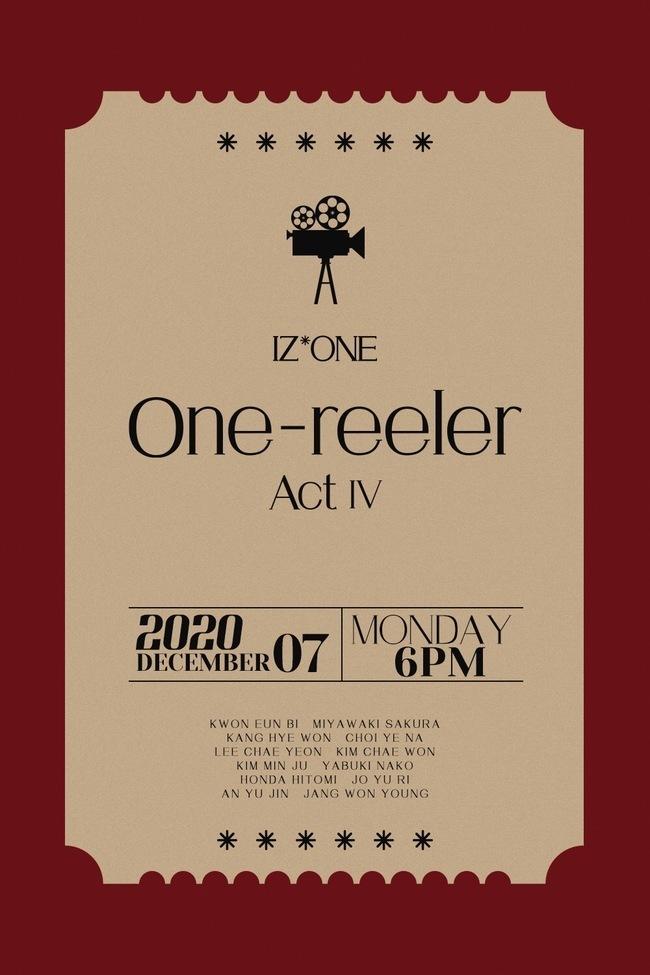7일(월), 아이즈원(IZ*ONE) 미니 앨범 4집 'One-reeler (타이틀 곡: 파노라마)' 발매 | 인스티즈