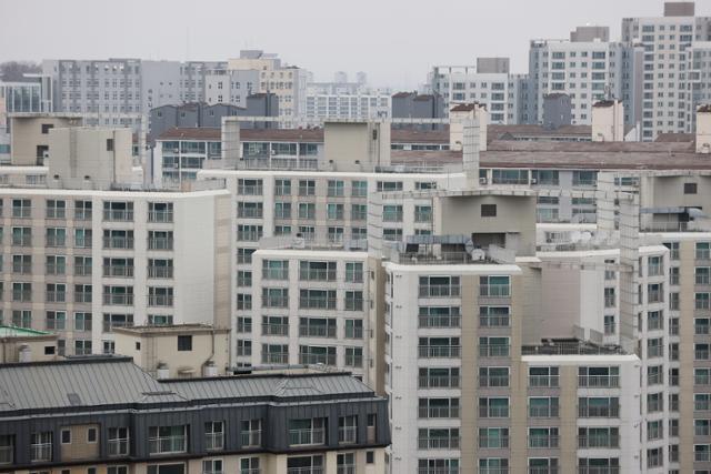 22일 경기 김포의 아파트 단지 모습. 연합뉴스