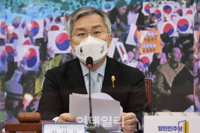 최강욱 열린민주당 대표 (사진=방인권 기자)