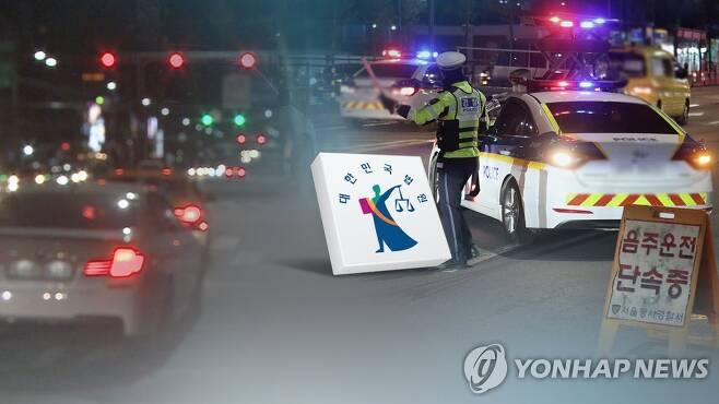 음주운전(CG) [연합뉴스TV 제공. 재판매 및 DB 금지]