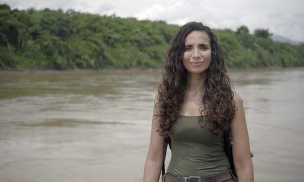 고고학자 겸 탐험가 엘라 알샤마히의 모습.