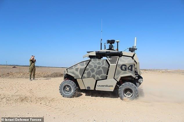 이스라엘군의 '아방가르드' 자율주행 공격 차량 [이[이스라엘 국방부. 재판매 및 DB 금지]