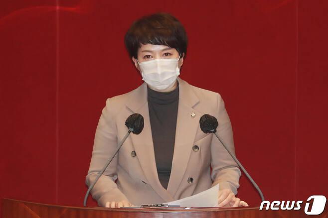 김은혜 국민의힘 대변인.  © News1 성동훈 기자