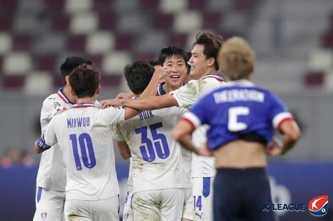 수원삼성이 예상을 뒤엎고 ACL 8강까지 진출했다. (한국프로축구연맹 제공) © 뉴스1