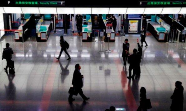 지난 1월 10일 도쿄 하네다 국제공항의 모습.