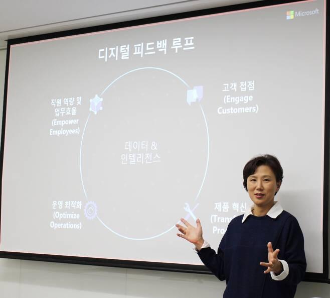 이지은 한국마이크로소프트 대표 /사진=MS