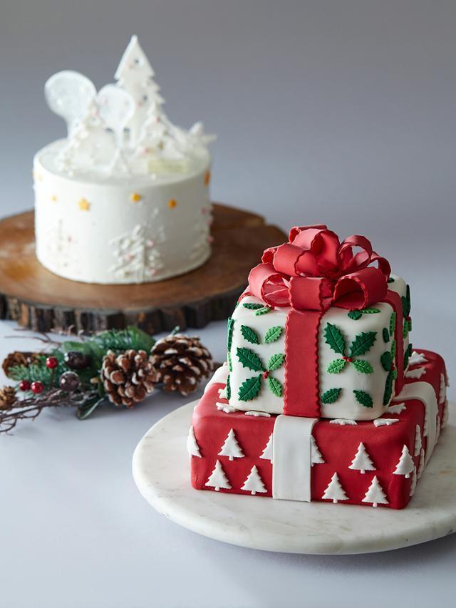 웨스틴 조선호텔에서 판매 중인 크리스마스 케이크. 신세계조선호텔 제공