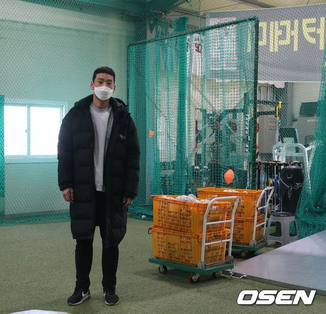[OSEN=인천, 홍지수 기자] '파이어볼러'로 이름을 날렸던 엄정욱 베이스볼 아카데미 감독.