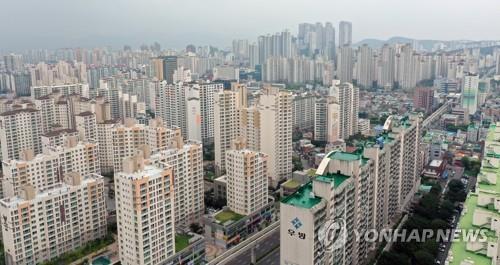 대구 아파트촌 [연합뉴스 자료사진]