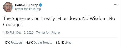 (자료=도널드 트럼프 대통령 트위터 캡처)