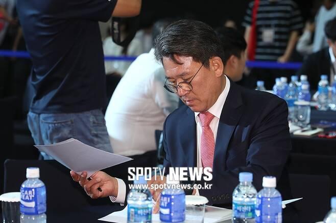 ▲ KIA 조계현 단장. ⓒ 곽혜미 기자