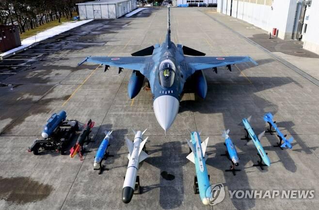 일본 항공자위대 F2 전투기 [일본 항공자위대 제공, 재판매 및 DB 금지]