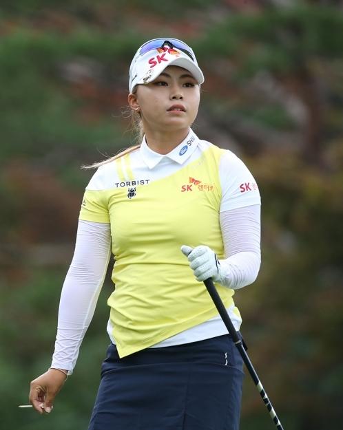 미국 텍사스주 휴스턴의 챔피언스 골프클럽에서 열리는 2020년 미국여자프로골프(LPGA) 투어 메이저 골프대회 제75회 US여자오픈 우승에 도전하는 김지영2 프로. 사진제공=KLPGA