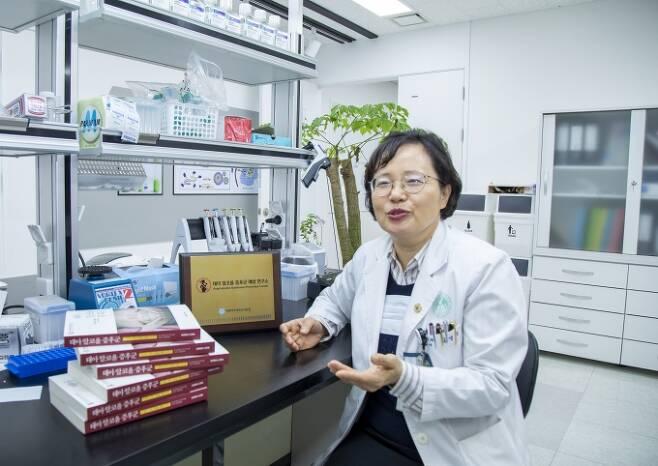 ▲김영주 교수(태아알코올증후군예방연구소장)