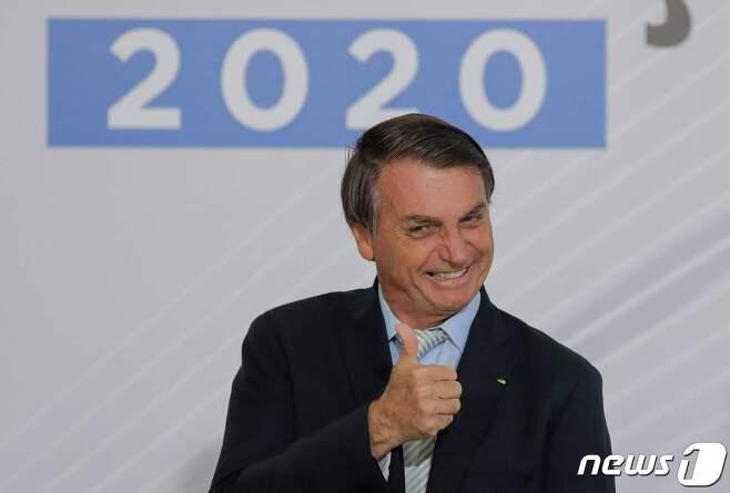 자이르 보우소나루 브라질 대통령. © AFP=뉴스1
