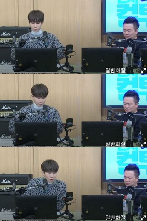 '컬투쇼' 비투비 서은광 사진=SBS 파워FM '두시탈출 컬투쇼' 캡처