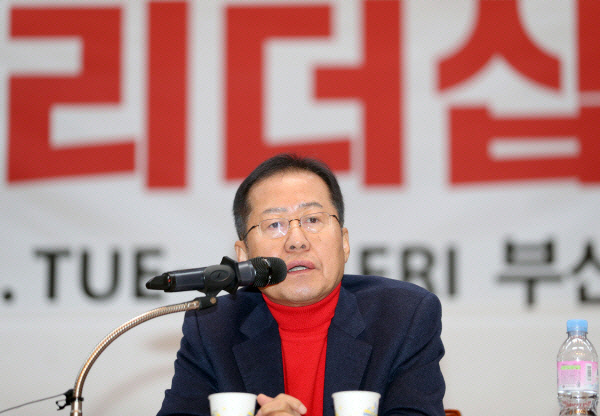 홍준표 무소속 의원/ 연합뉴스