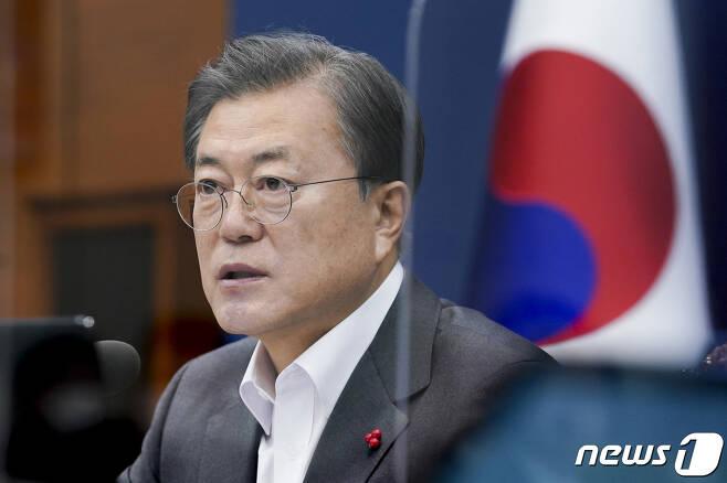 문재인 대통령. 2020.12.15/뉴스1 © News1 박정호 기자