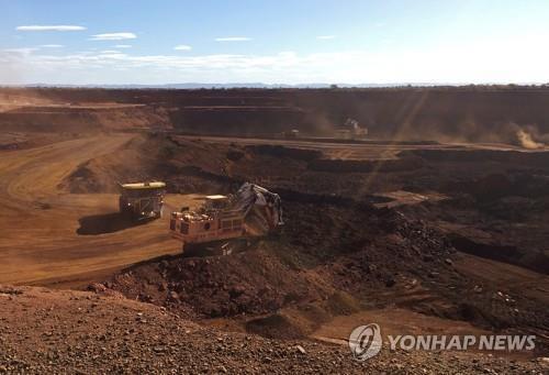 호주 철광석 광산 [로이터=연합뉴스 자료사진]