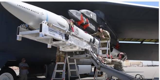 미국 극초음속 미사일 'AGM-183A [미국 국방부 제공.재판매 및 DB 금지]]