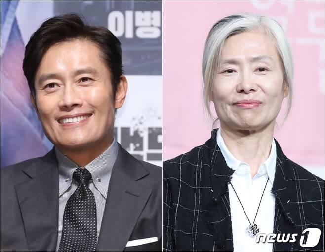 이병헌(왼쪽) 예수정 © 뉴스1