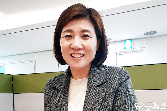 한국 여자배구의 전설 장윤희(사진=엠스플뉴스 이근승 기자)