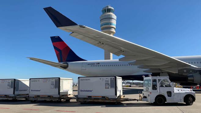 델타항공 항공기.© 뉴스1