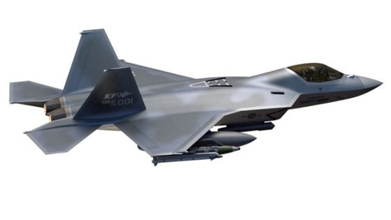 한국형 전투기(KF-X) 이미지. 2026년까지 체계개발을 마치는 게 목표다. [한국항공우주산업]