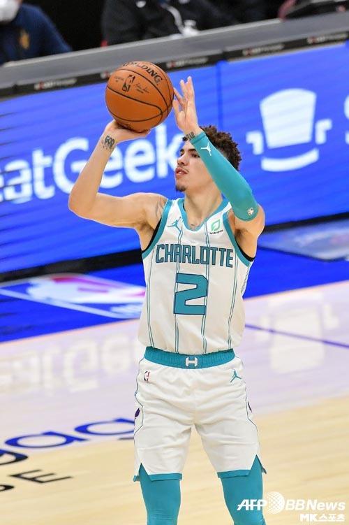 라멜로 볼이 NBA에 데뷔했다. 사진(美 클리블랜드)=ⓒAFPBBNews = News1