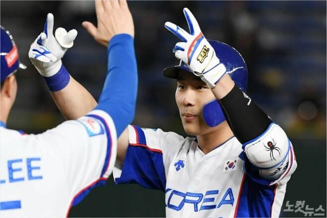 KBO 리그 최고 유격수이자 국가대표 내야수로서 MLB 진출을 눈앞에 둔 키움 김하성.(사진=이한형 기자)