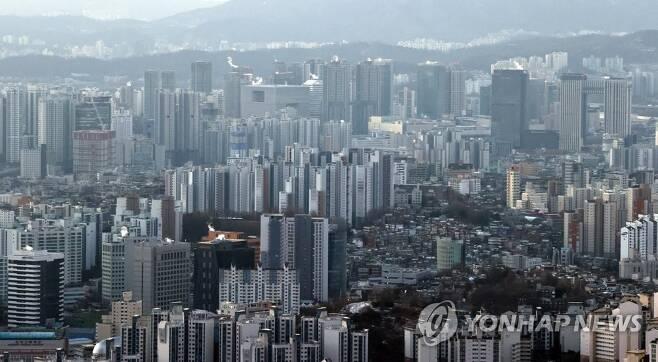 서울 '아파트 불패' 심화 [연합뉴스 자료사진]