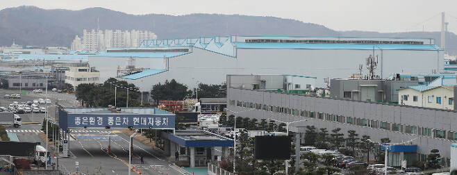 현대자동차 울산공장 전경. 연합뉴스