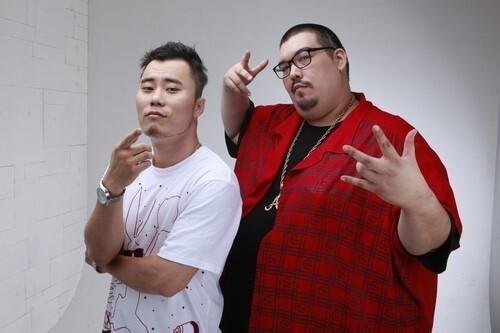 ▲ 박사장(왼쪽)과 故빅죠. 제공| 와킨코리아