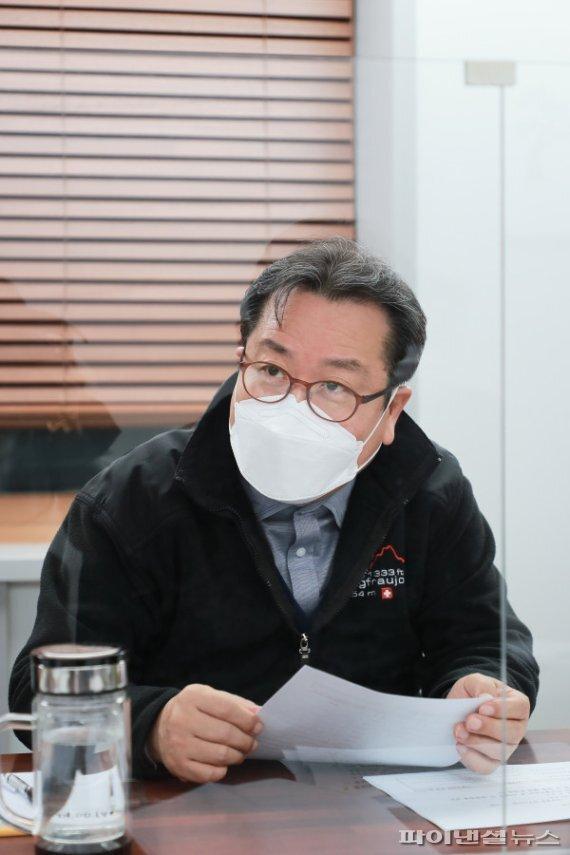 조광한 남양주시장 12일 불법 개농장 관계부서 합동대책회의 주재. 사진제공=남양주시