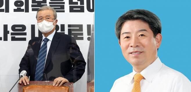 ▲ 김종인 비상대책위원장과 이승현 명예회장 사진= 연합뉴스, 이승현 명예회장 페이스북