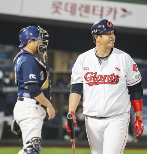 롯데 이대호(오른쪽). 연합뉴스