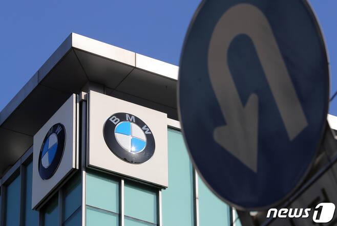 서울 서초구의 BMW 차량정비센터. 2019.1.23/뉴스1 © News1 구윤성 기자