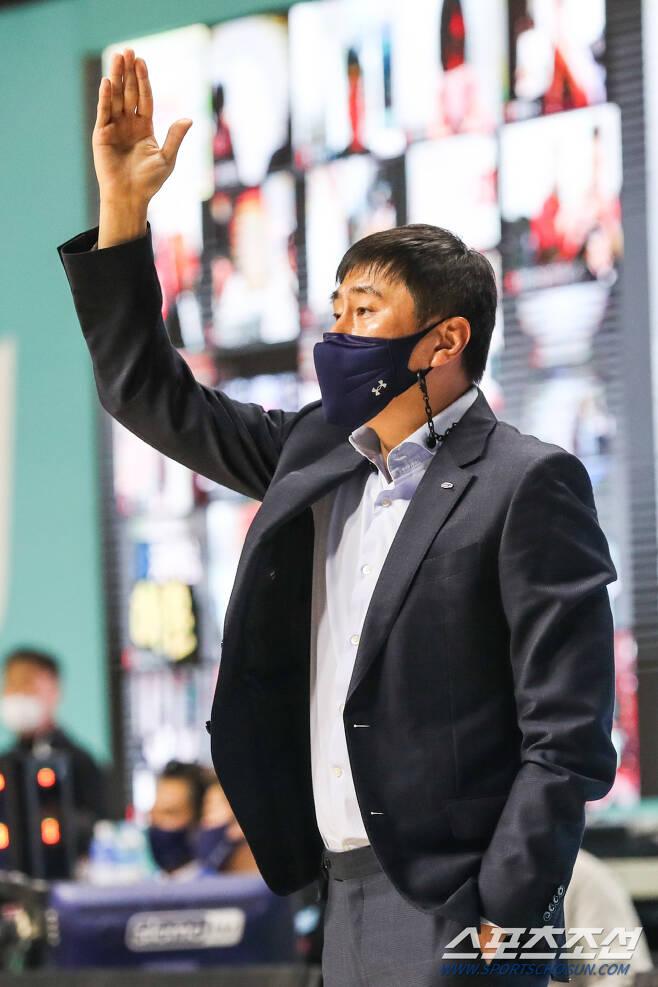 삼성 이상민 감독. 사진제공=KBL