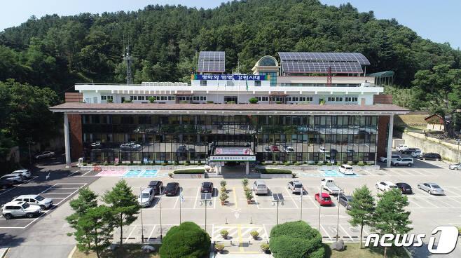 홍천군청 전경(홍천군 제공)© 뉴스1